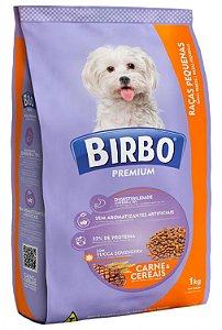 Birbo Premium Raças Pequenas Carne e Cereais