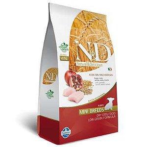 N & D Low Grain Frango para Cães Filhotes de Raças Pequenas