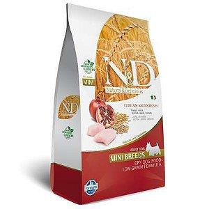 N & D Low Grain Frango para Cães Adultos de Raças Pequenas