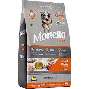 Ração Monello Energy Cães Adultos 15 Kg
