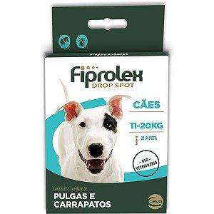 Anti Pulgas e Carrapatos Fiprolex Cães até 11 a 20 kg