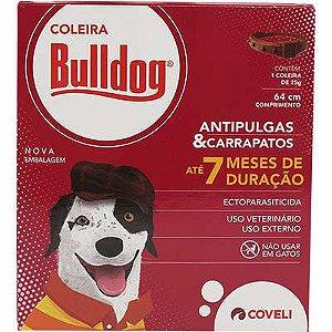 Coleira Anti Pulgas e Carrapatos Bulldog para Cães