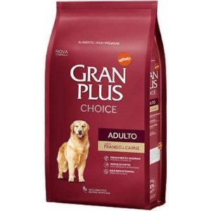 GranPlus Choice Cães Adulto Sabor Frango e Carne 15 kg
