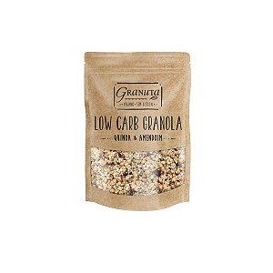 Granola Low Carb Quinoa e Amendoim 200g - Granuta
