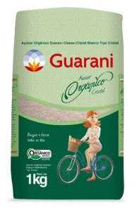 Açúcar Cristal Orgânico 1 kg - Guarani
