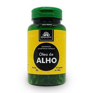 Óleo de Alho 120 cápsulas de  250mg - Kampo de Ervas