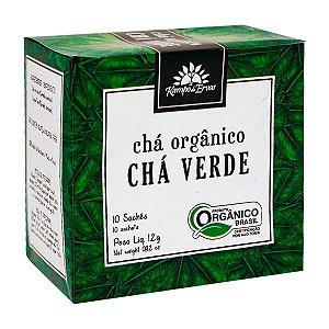 Chá Verde Orgânico (10 saches) - Kampo de Ervas