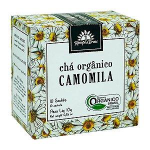 Chá de Camomila Orgânico (10 sachês) - Kampo de Ervas