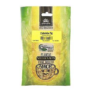 Chá de Calêndula Orgânico 25g - Kampo de Ervas