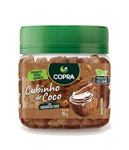 Cubinho de Coco com Açúcar de Coco Copra  -  90g
