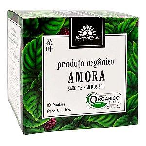 Chá Amora Orgânico (10  Saches) - Kampo de Ervas