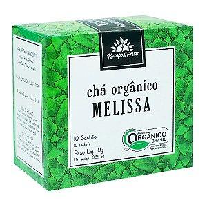 Chá de Mellisa Orgânico ( 10 saches) - Kampo de Ervas