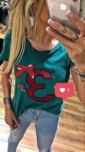 Camisetas Femininas Bordadas
