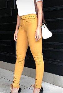Calça Skinny Color Cintura Alta