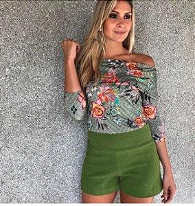 Shorts Feminino Algodão