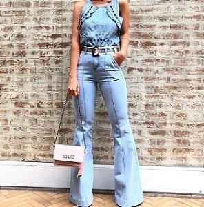 Calça Jeans Flare Feminina Clara