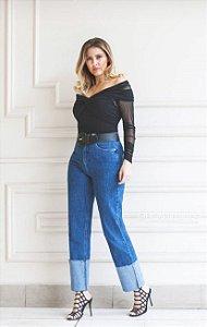 Calça Jeans Reta Bebela Lavinia