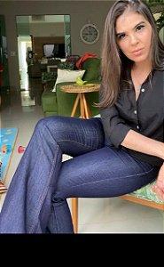 Calça Jeans Flare Básica Thassia