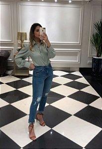 Calça Skinny Jeans Alessandra