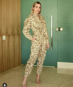 Calça Feminina animal Print