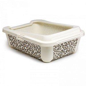 Bandeja higiênica para areia - bandeja para gatos Hercules Safari