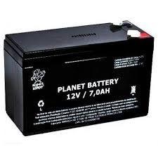 Bateria para cerca elétrica e alarme