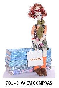 Projeto Boneca diva em compras