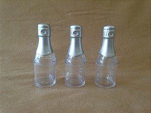 Box champgne com foto plástico/5 unidades