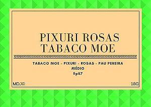 Rapé de Pixuri e Rosas c/Moe Envelhecido 3 anos