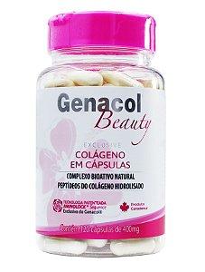 Colágeno Hidrolisado Genacol Beauty Pink (120caps)