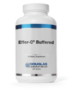 Vitamina C com Minerais - Effer C Buffered Douglas Labs (240g)