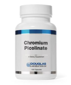 Picolinato de Cromo - Chromium Picolinate 250mcg Douglas Labs (100caps)