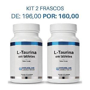 KIT 2 L-Taurine 75 mg  (2 frascos com 90 comprimidos cada)