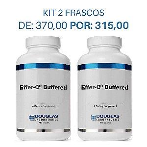 KIT 2 Vitamina C com Minerais - Effer C Buffered Douglas Labs (240g cada)