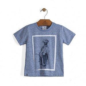 Camiseta Dog Azul
