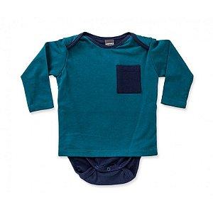 Camiseta Body Bolso
