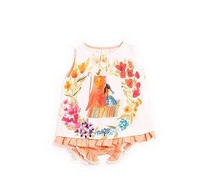 Vestido Malai Bebê