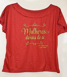 Camiseta Mulheres Donas de Si