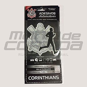 Adesivo Corinthians Corredor Masculino - Produto Oficial