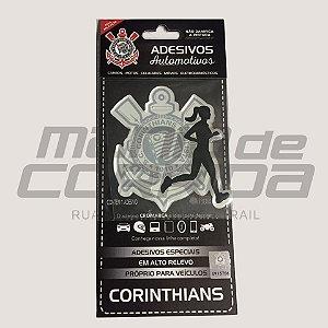 Adesivo Corinthians Corredora Feminino - Produto Oficial