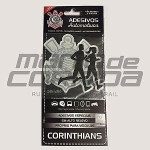 Adesivo Corinthians Casal de Corredores - Produto Oficial