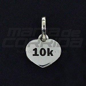 Pingente 10k em Prata 950