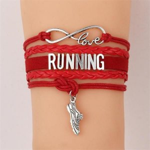 Pulseira Running Vermelha