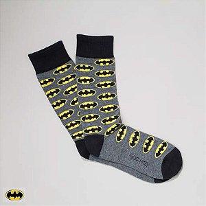 Meia Lupo Urban Batman Logos - Produto Licenciado