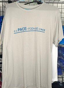 Camiseta Foda-se o Pace Cinza