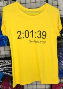 Camiseta Recorde Mundial Maratona