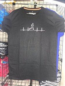 Camiseta Corredor Batimento Preto