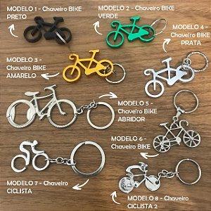 Chaveiros Bike / Ciclista - 8 modelos
