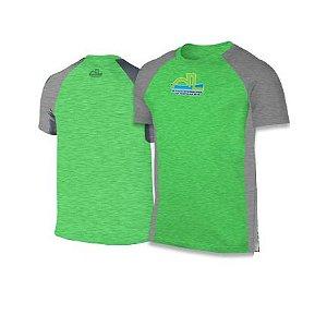 Camiseta Volta Internacional da Pampulha 2018 - Verde com detalhes Cinza