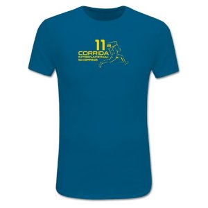 Camiseta Corrida Internacional Shopping Azul